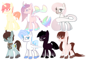 Pony Adopts 8: Fillys and Colts by Xnvy