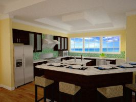 Darville kitchen by foulmouth