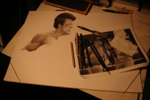 First Leak of the Rocky IV speed drawing video by Polonx