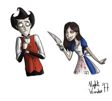 Alice and Wilson by NightWonder97