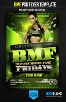 BMF Party  Flyer Templates by ImperialFlyers