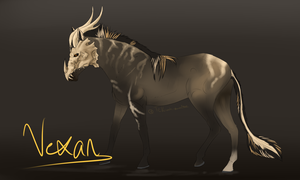 Vexan Species Auction Adopt SOLD by Allixi