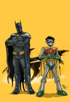 Batman and Robin 1000000 by RamonVillalobos