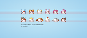 hellokitty icon set by nicworks