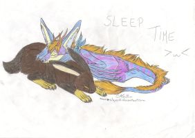 Sleep Time by Marina-Okami