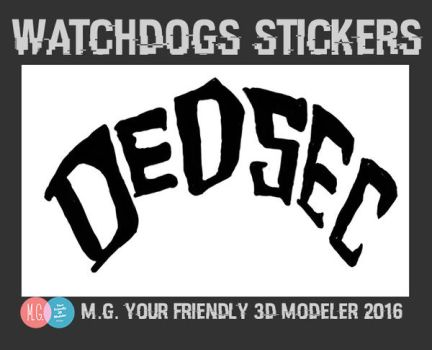 Decsec Stickers Export by twitte0king