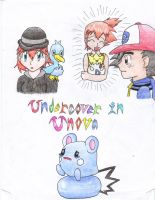 Undercover in Unova Coverpage by BlueMew919