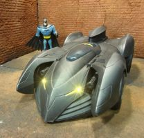 Custom Batmobile Repaint Front by skphile