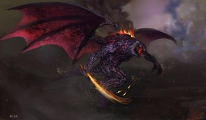 Balrog by Bomb-a-Jead