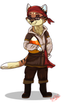 PC: Halloween Chibi - Courtney by ScottishRedWolf