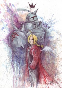 FMA: Wing and Crown by Revenant-Wings