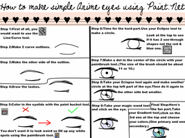 Paint.NET:Simple Anime Eyes by Rinaxxxo