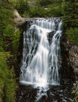 Heather Meadows Falls by greglief