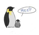 Meep...Penguin. by YoukaiYume