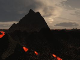 Volcano That I hate by pyrohmstr