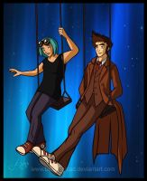 Swinging with the Doctor- Comission by Belegilgalad
