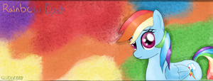 Rainbow Dash Facebook Cover Photo by Sludge888