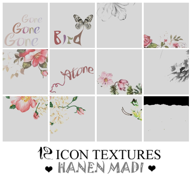 Icon Textures 1 by Hanen-Madi