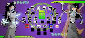 Homestuck The Game Aradiabot VS Jadebot by Video320