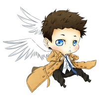 Castiel by iridiumfeathers