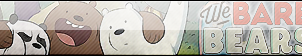 We Bare Bears Fan Button by JustButtons