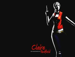Claire Redfield wallpaper ARTb by Claire-Wesker1