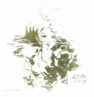 Riven, the Exile (June 1st, 2013) by Alex-Chow