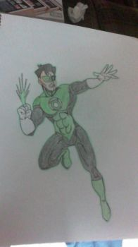 Green Lantern by SweetL3w