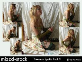 Summer Sprite Pack 9 by mizzd-stock