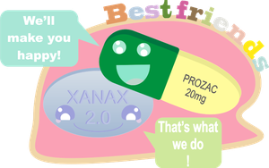Prozac and Xanax The Best Of Friends by DeadPrincessa