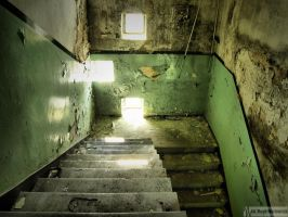 Stairs to the basement by waclawq