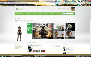 Xbox.com Updated :D by demon1993