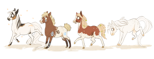neigh neigh babies by Fuye