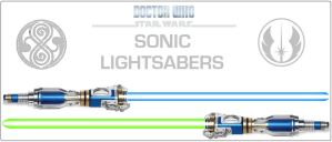 Doctor Who / Star Wars - Sonic Lightsabers by DoctorWhoOne