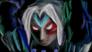 Majoras Mask - Fierce Deity Link WiiUpad by linkswords10