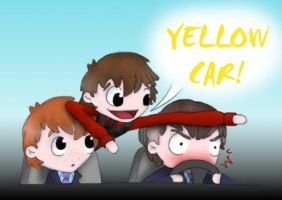Cabin Pressure - Yellow Car by HugMonster341