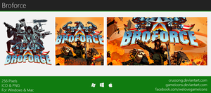 Broforce - Icon by Crussong