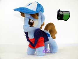 Dipper Pines V4 Glow-in-the-Dark by kiashone