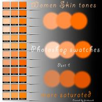 women skin tones part 1 by feniksas4