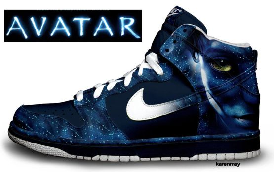 Custom Nike Dunks: Avatars by kaycunana