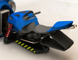 Snowmobile concept 03 by ManicGraphix