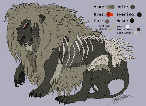 C: The Lion in The Dark by TheEvisceration
