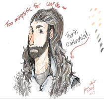 Thorin Oakenshield by mangaluver567