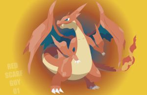 Mega Charizard Y by RedScarfGuy01