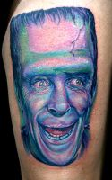 herman munster by tat2istcecil