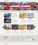 Tour Web Page Design by l3w3nt