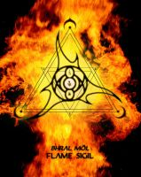 Flame Sigil by AenTheArtist