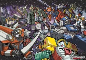 Transformers Armada by ryusno