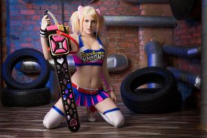 Lollipop Chainsaw Juliet Starling cosplay by Jane-Po