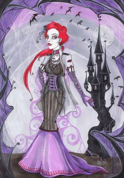 The Batcastle Queen by MADmoiselleMeli